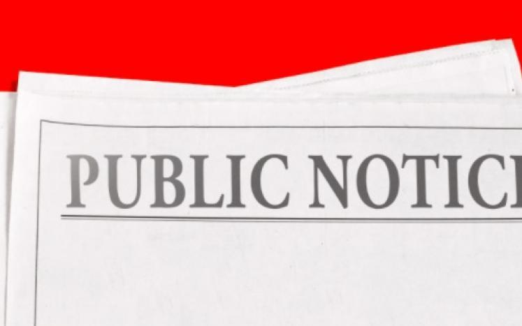 Assessor Public Notice
